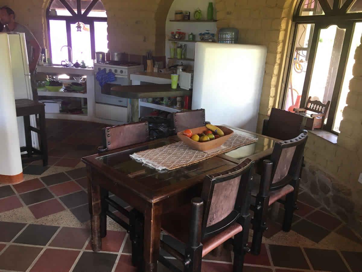 Alquiler cabaña Jishana en Villa de Leyva - Cocina
