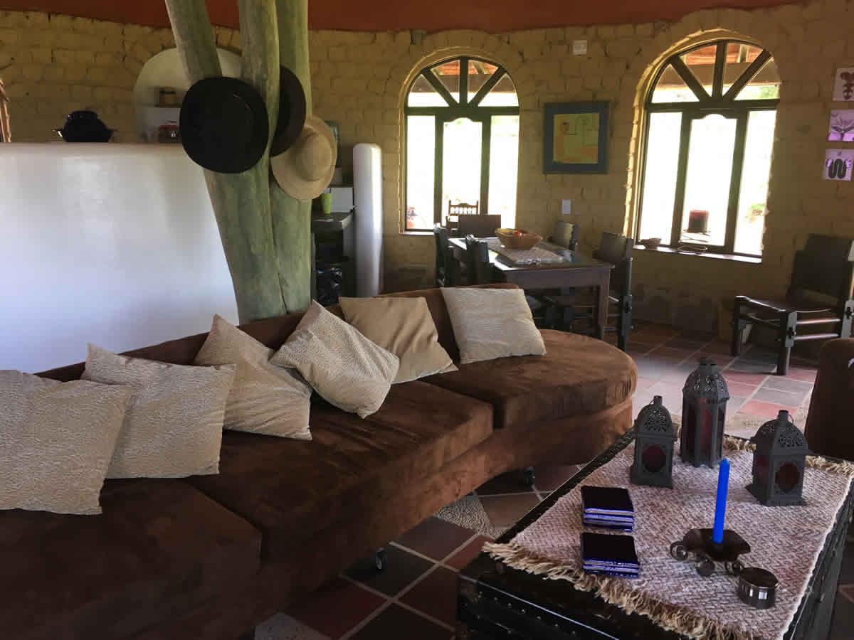 Alquiler cabaña Jishana en Villa de Leyva - Sala