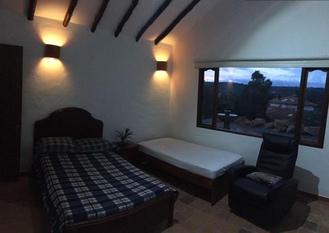Alquiler casa El Silencio en Villa de Leyva habitación 3
