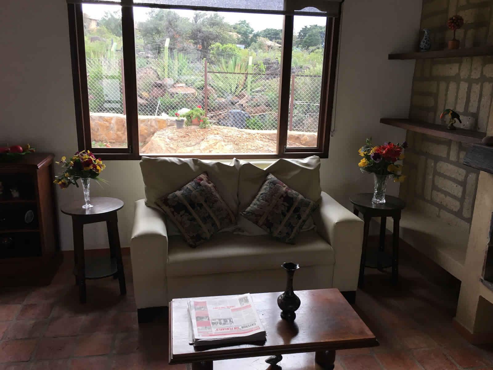 Alquiler casa El Silencio en Villa de Leyva - sala