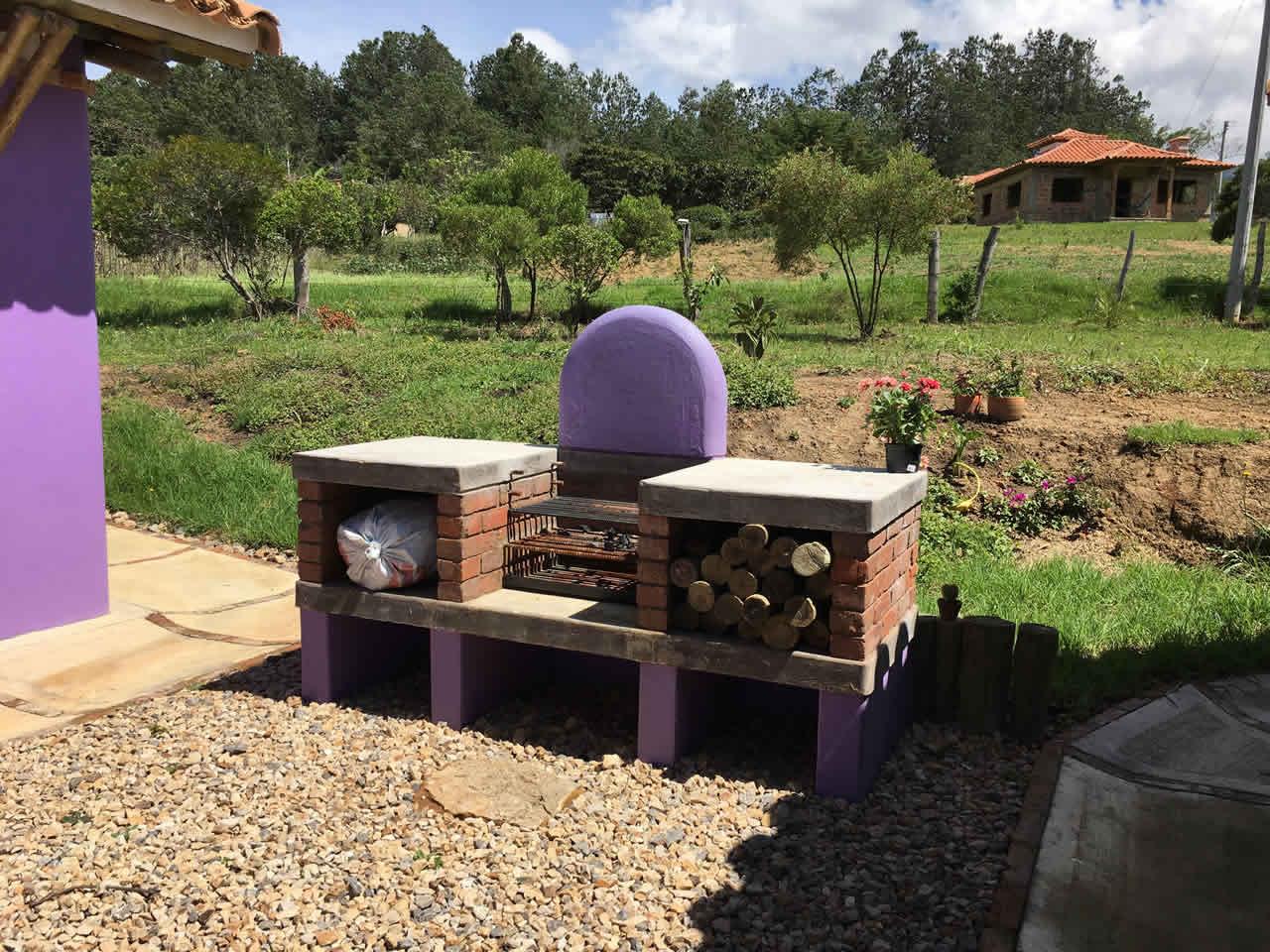 Alquiler casa Jishana Villa de Leyva - BBQ