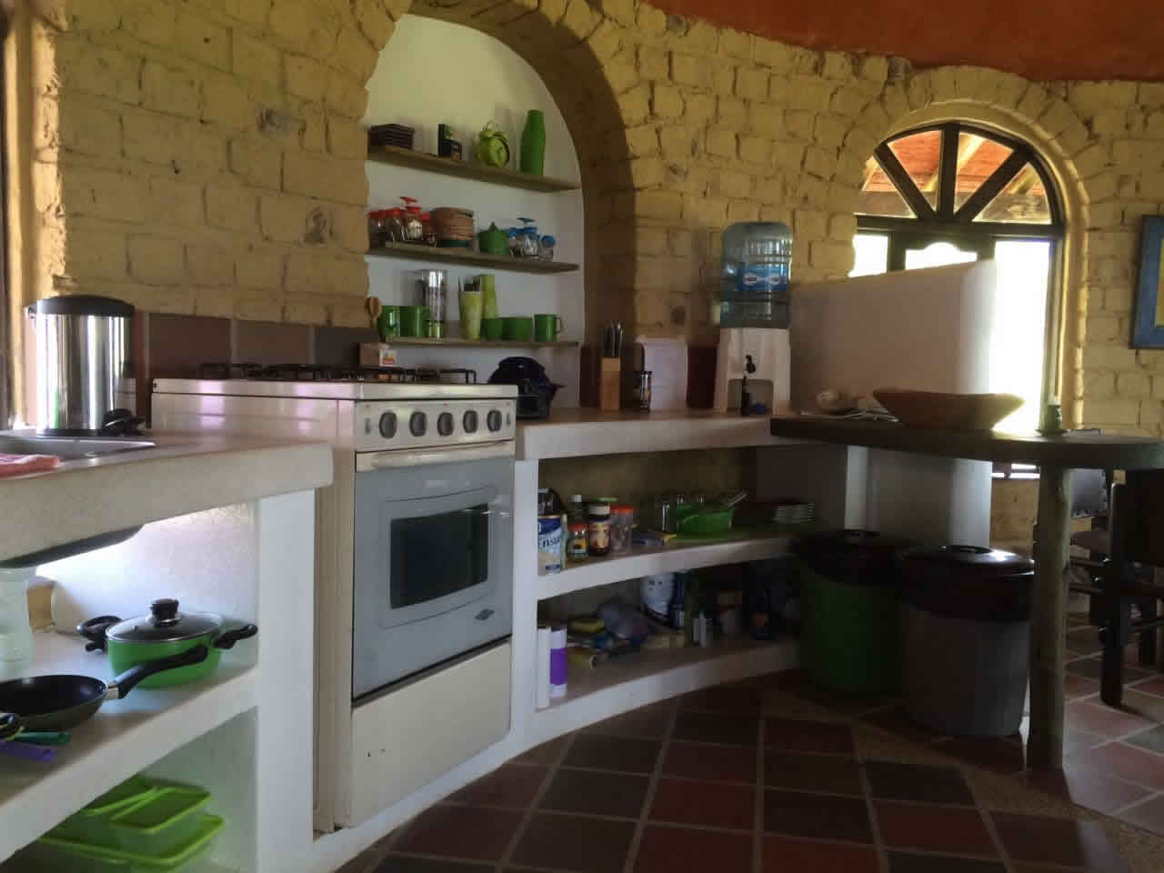 Alquiler casa Jishana Villa de Leyva - Cocina