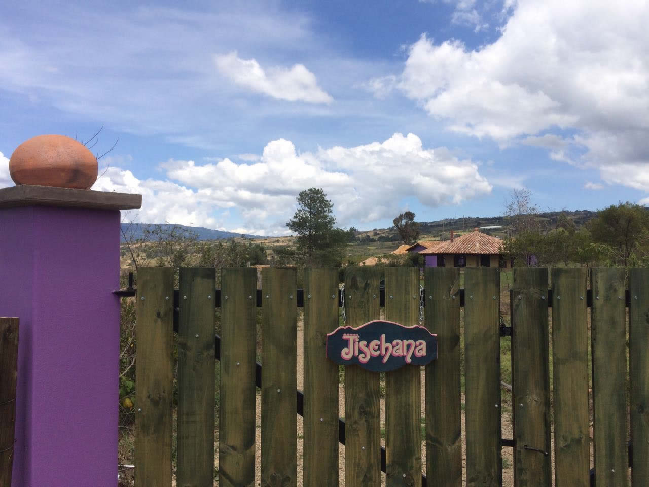 Alquiler casa Jishana Villa de Leyva - Entrada