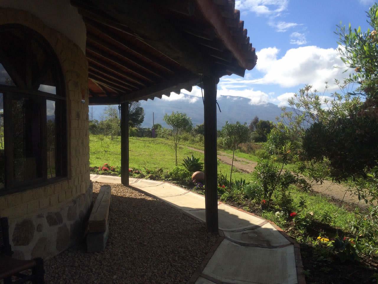 Alquiler casa Jishana Villa de Leyva - Vista