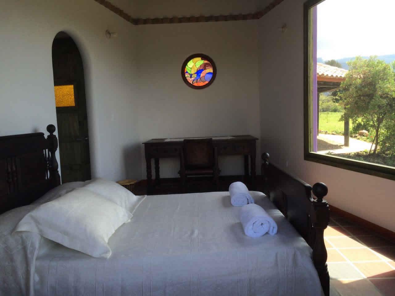 Alquiler casa Jishana Villa de Leyva - Habitación Principal