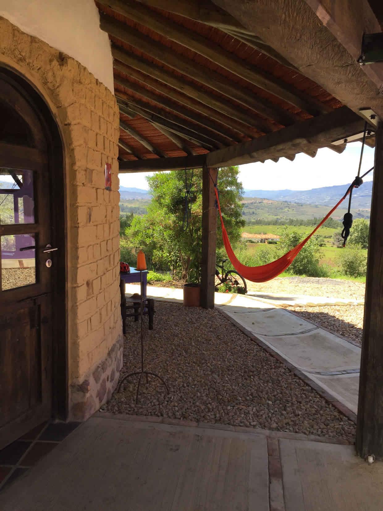 Alquiler casa Jishana Villa de Leyva - Hamacas