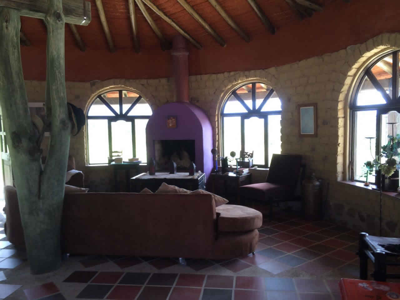Alquiler casa Jishana Villa de Leyva - Sala