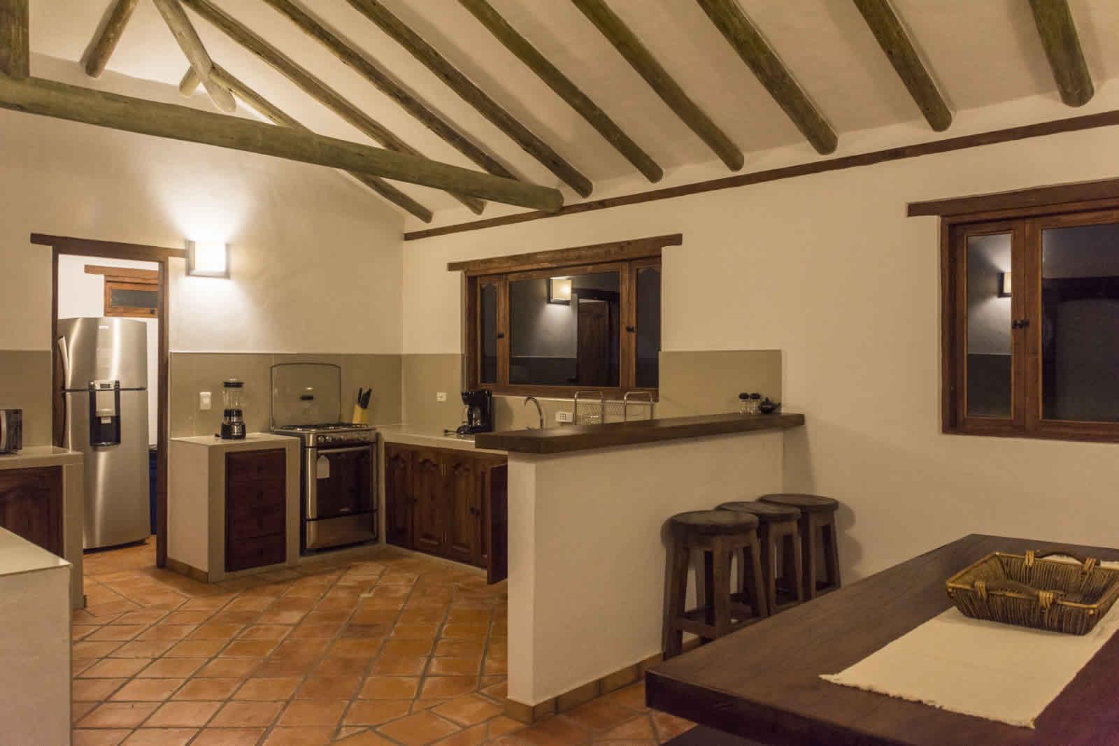 Alquiler casa de Ritoque en Villa de Leyva - Cocina