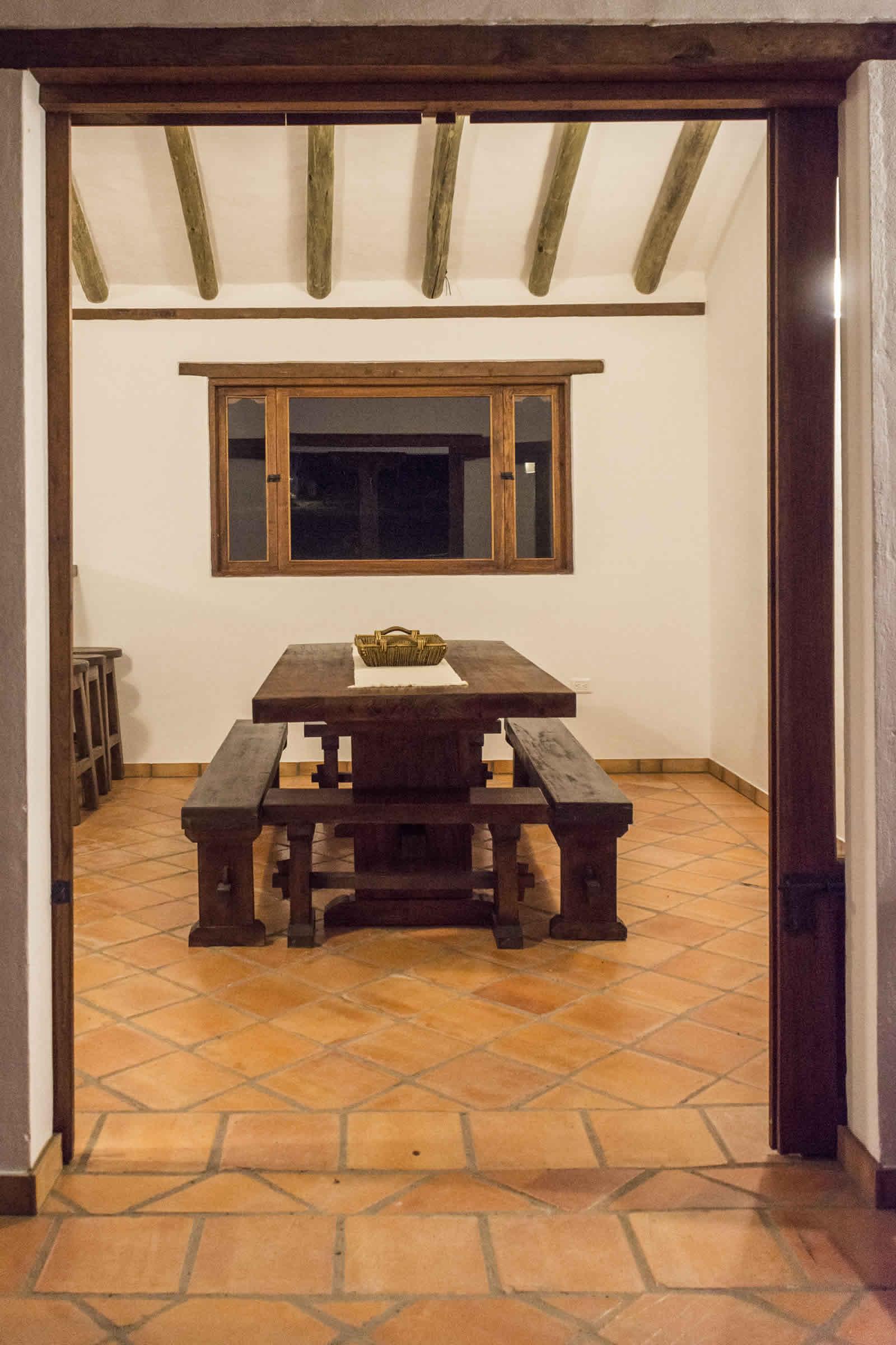 Alquiler casa de Ritoque en Villa de Leyva - Comedor