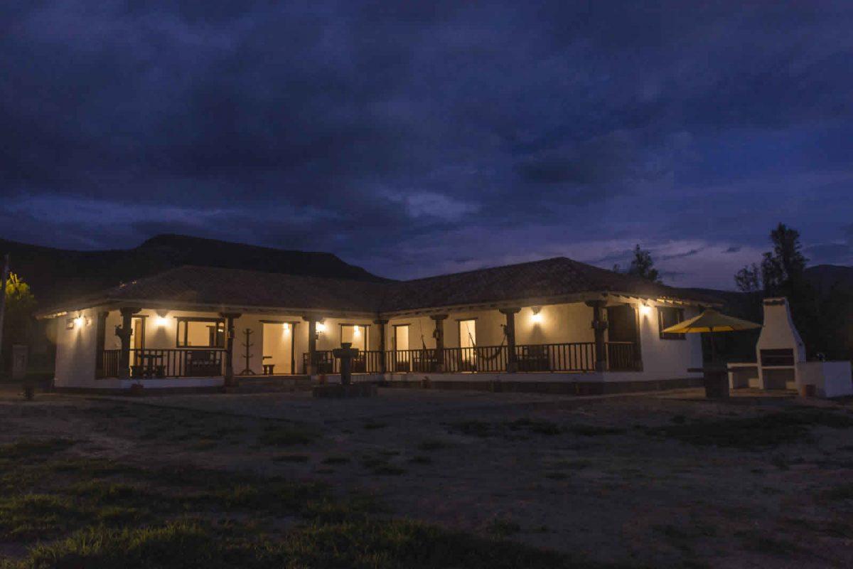 Alquiler casa de Ritoque en Villa de Leyva - Fachada