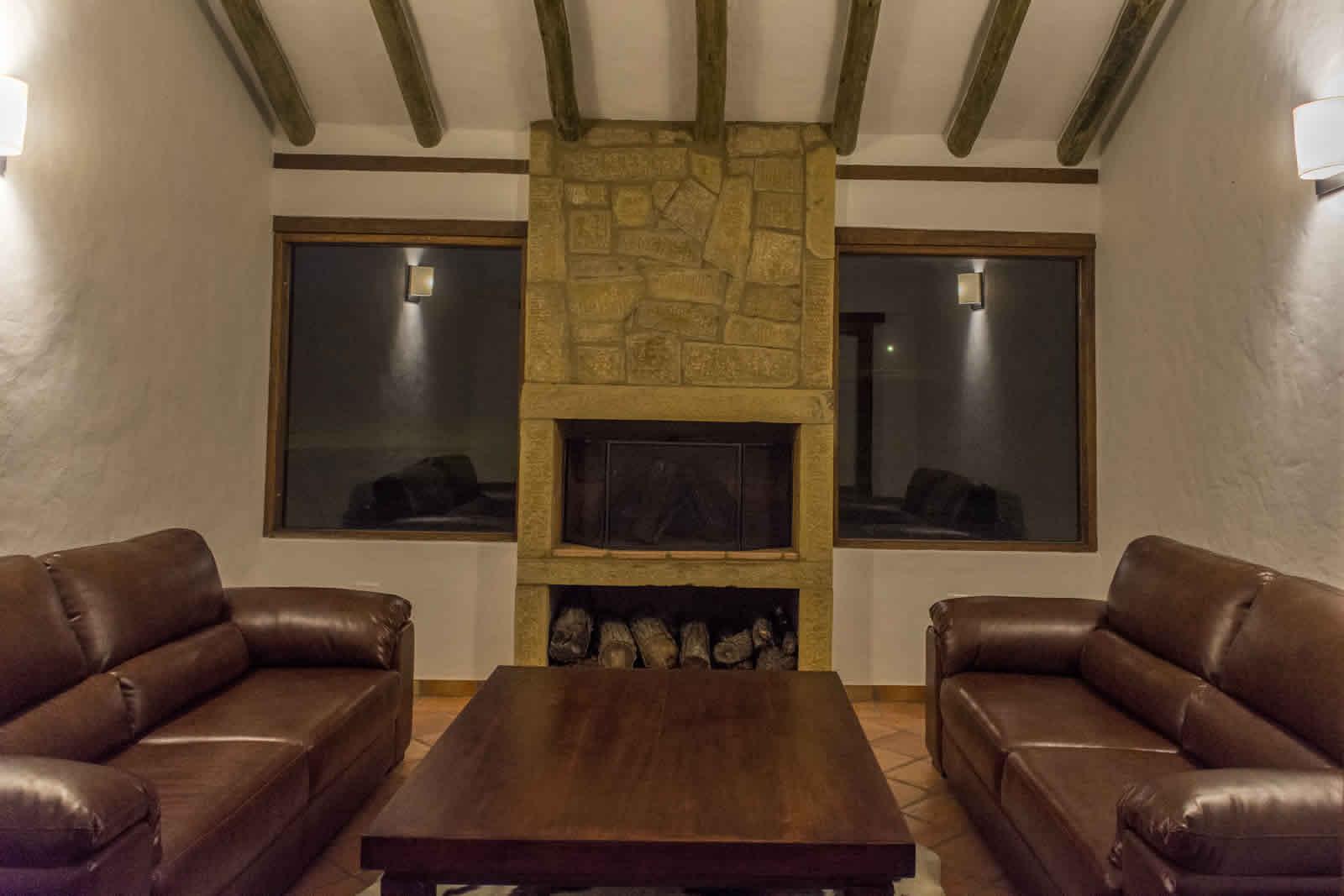 Alquiler casa de Ritoque en Villa de Leyva - Sala