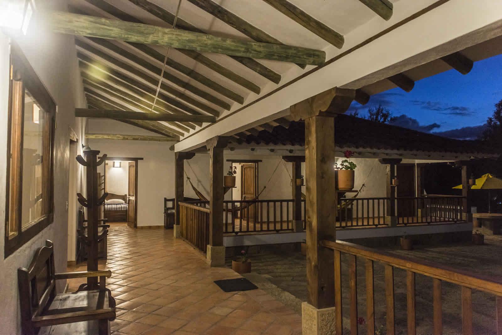 Alquiler casa de Ritoque en Villa de Leyva - Terraza
