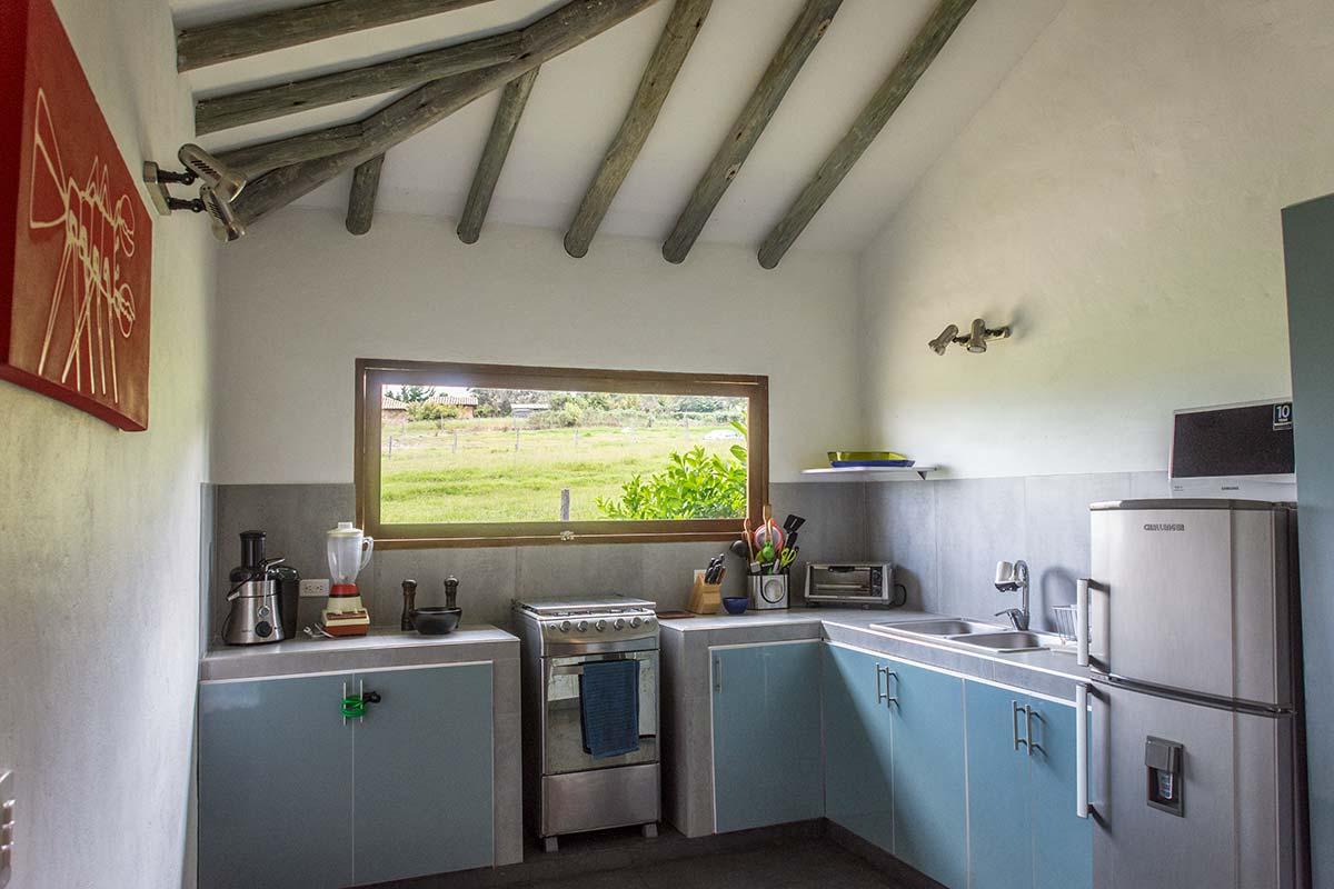 Alquiler Finca El Aliso en Villa de Leyva - Cocina