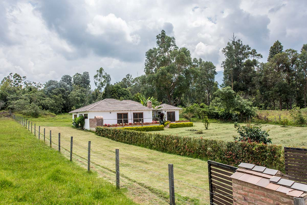 Alquiler Finca El Aliso en Villa de Leyva - Entrada