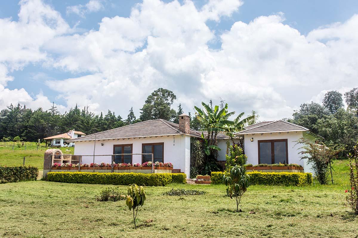 Alquiler Finca El Aliso en Villa de Leyva - Fachada