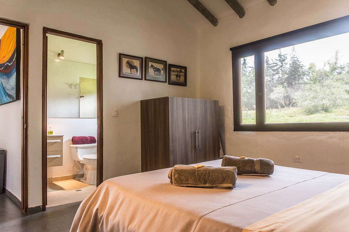 Alquiler Finca El Aliso en Villa de Leyva - Habitación 2