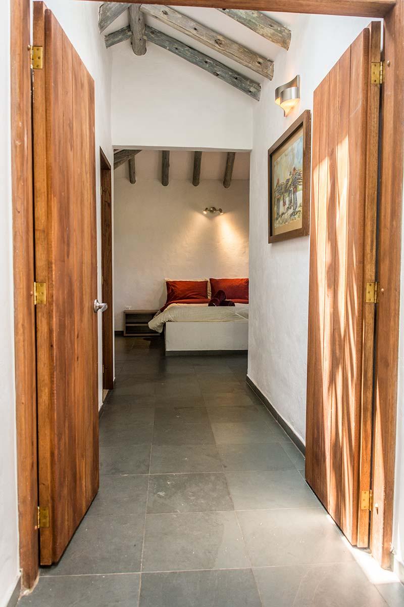Alquiler Finca El Aliso en Villa de Leyva - Habitación principal
