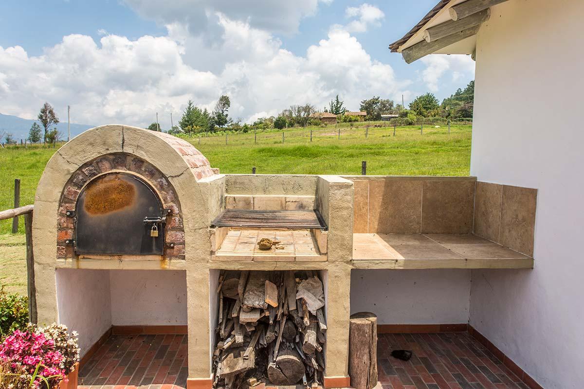 Alquiler Finca El Aliso en Villa de Leyva - Horno y BBQ