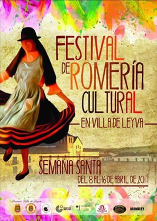 Festival de romería cultural de Villa de Leyva 2017 Afiche