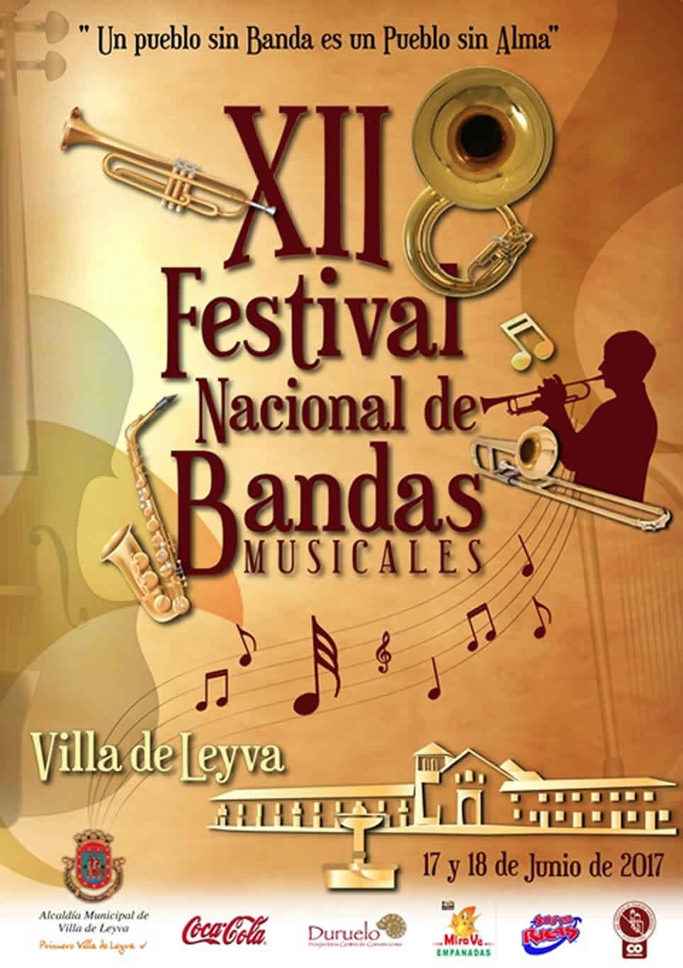 XII Festival Nacional de Bandas Musicales de Villa de Leyva