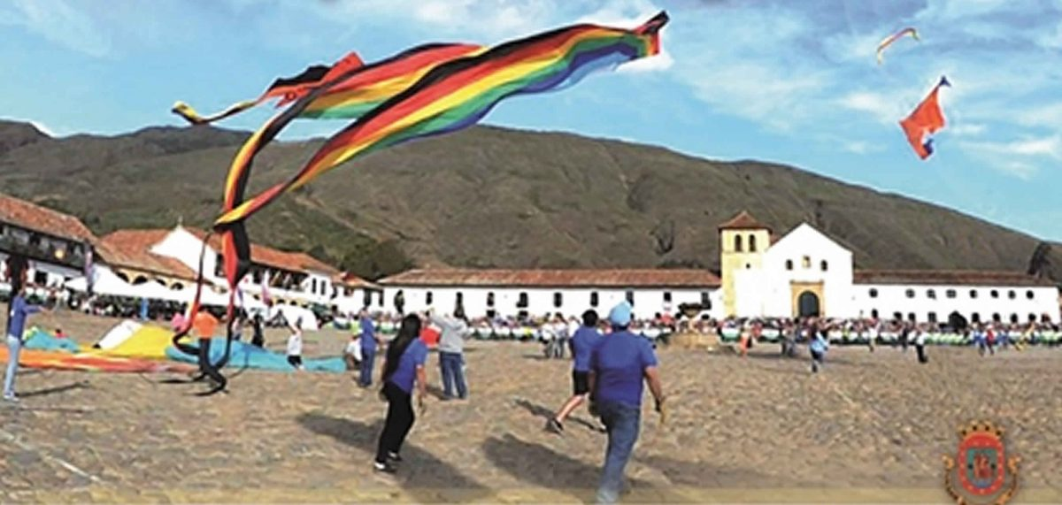 Festival de cometas de Villa de Leyva 2017