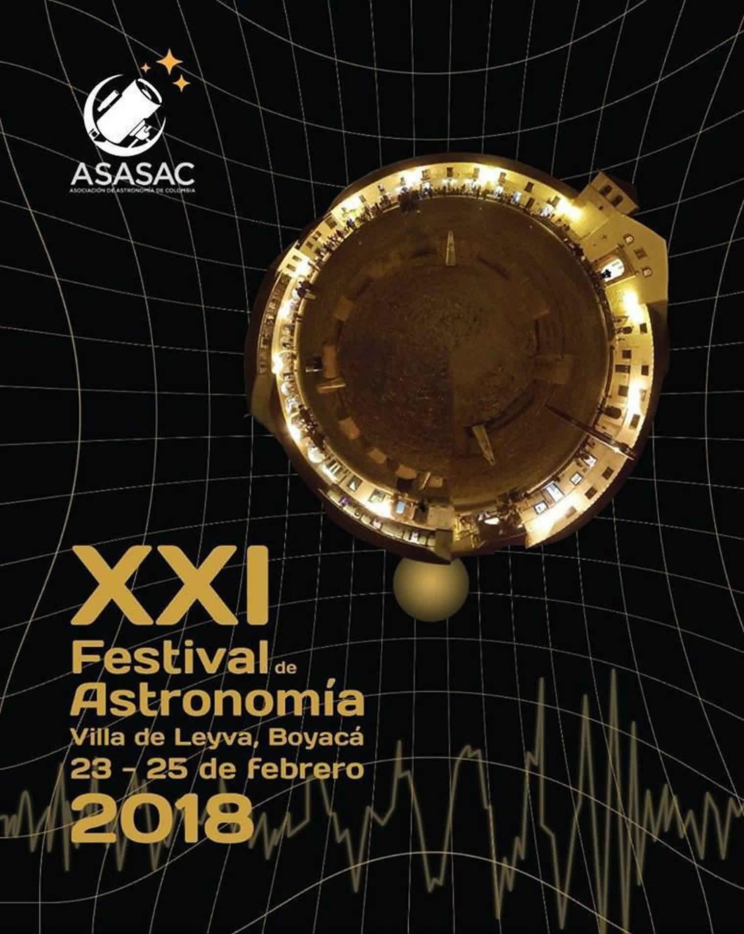XXI Festival de astronomia de Villa de Leyva - 2018