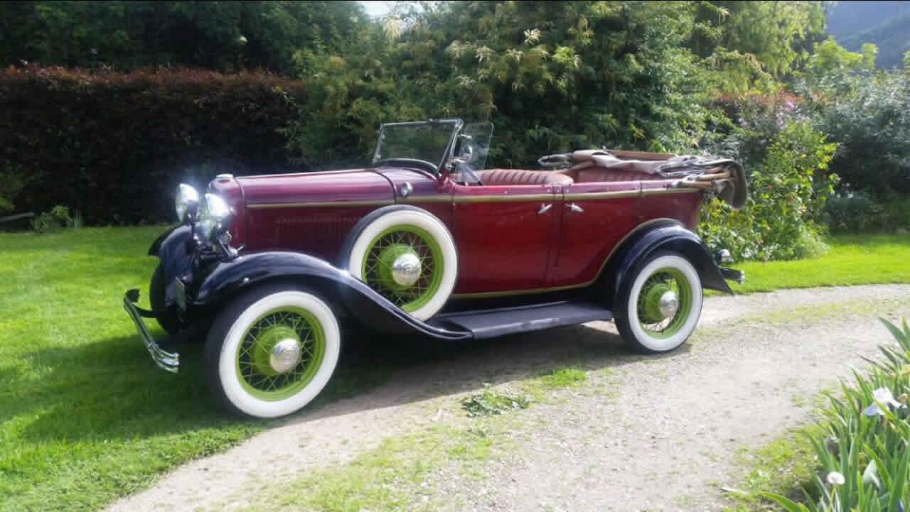 Alquiler de autos clásicos para matrimonios en Villa de Leyva